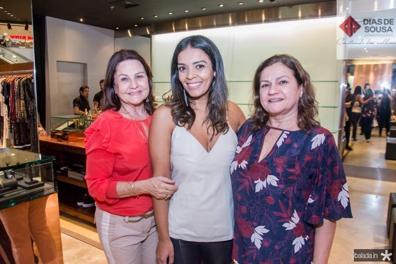 Fatima Araujo, Katia Nunes e Teresa Candida