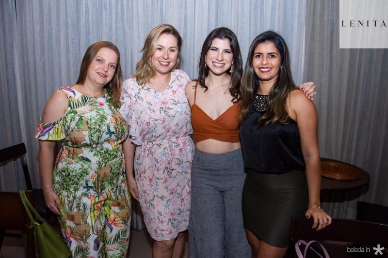 Renata Paraiba, Nanete Castelo Branco, Themis Briand e Eliane Medeiros