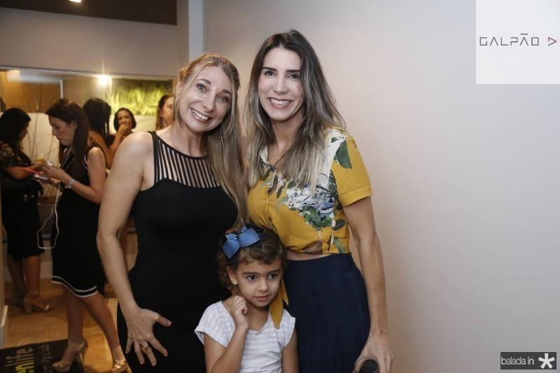 Eliana Licursi, Isis Rocha e Olga Eveline