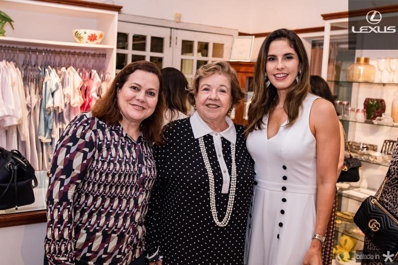Marta Campelo, Glaucia Martins e Marilia Fiuza