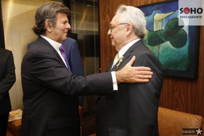 Luiz Fux e Paulo Albuquerque