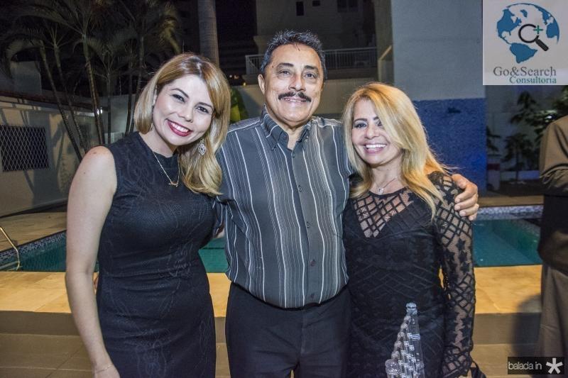 Renata Amaral, Leandro Batista e Veronica Amaral