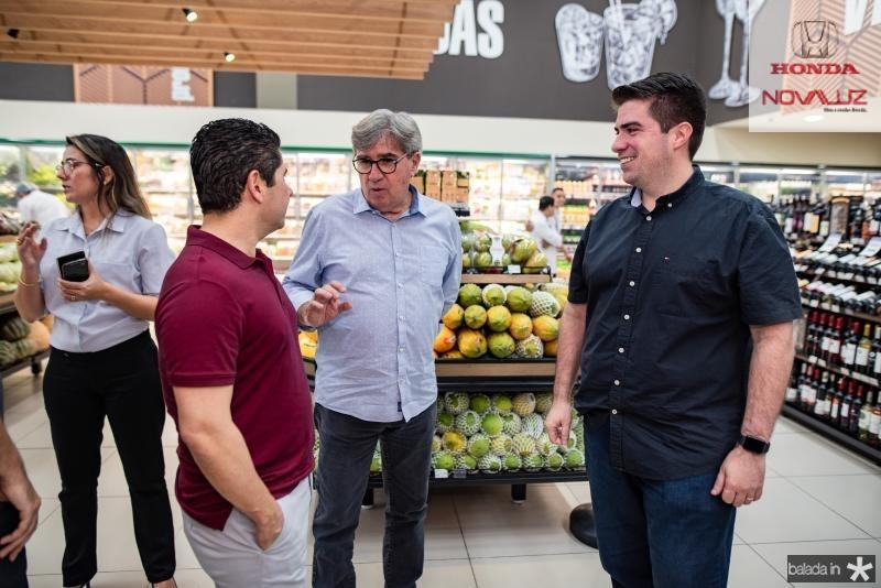 Pompeu Vasconcelos, Miguel Figueiredo e Flavio Figueiredo