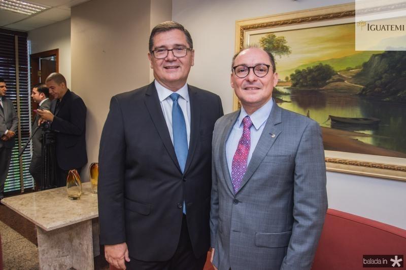 Walter Correa Lima e Alcides Saldanha