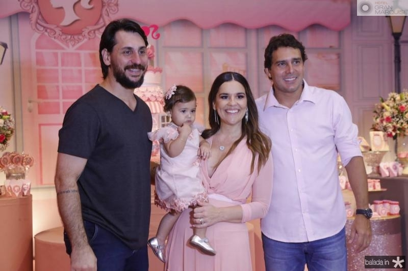 Rodrigo, Lais e Ana Paula Domene e Renato Soares