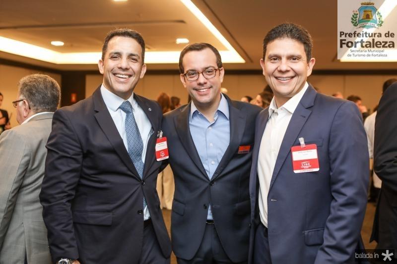 Raul Amaral, Ivo Machado e Anderson Rocha