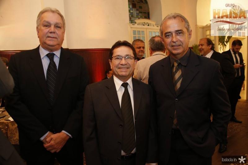 Emanuel Sobral, Alcir Porto e Erildo Pontes
