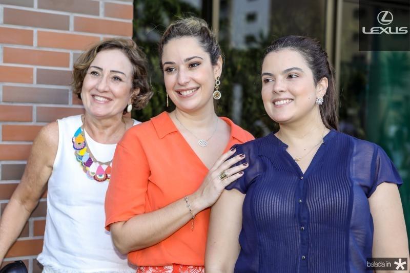 Teresa Arruda, Silvinha Leal e Cecilia Arruda