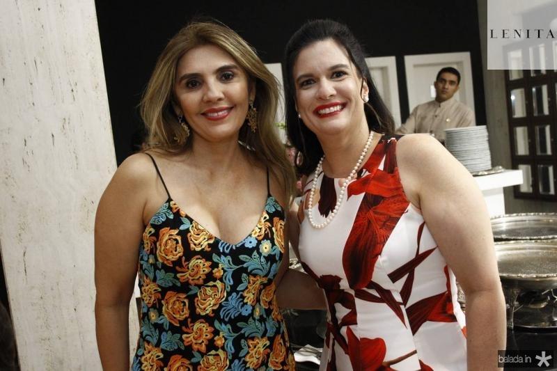 Renata Nogueira e Luciana Bezerra