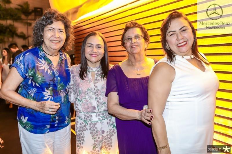 Ione Goes, Silvia Castro, Urana Ferraz e Socorro Amorim