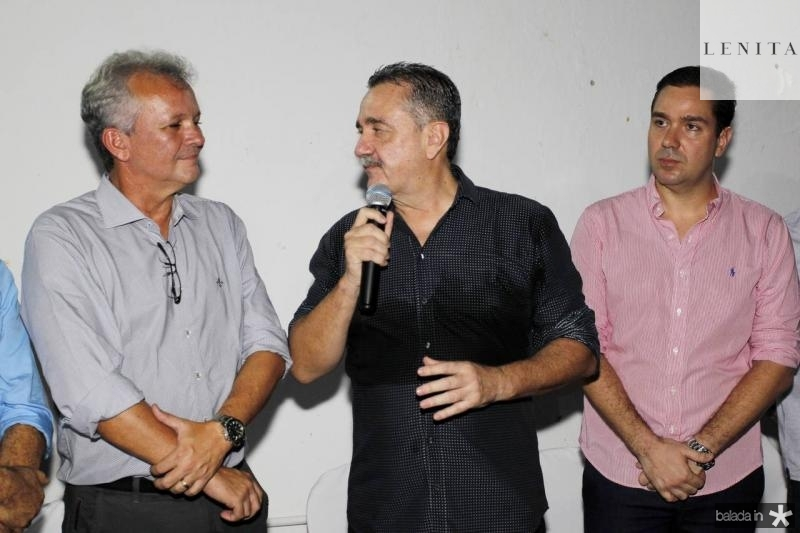 Andre Figueiredo, Bismarck Maia e Eduardo Bismarck