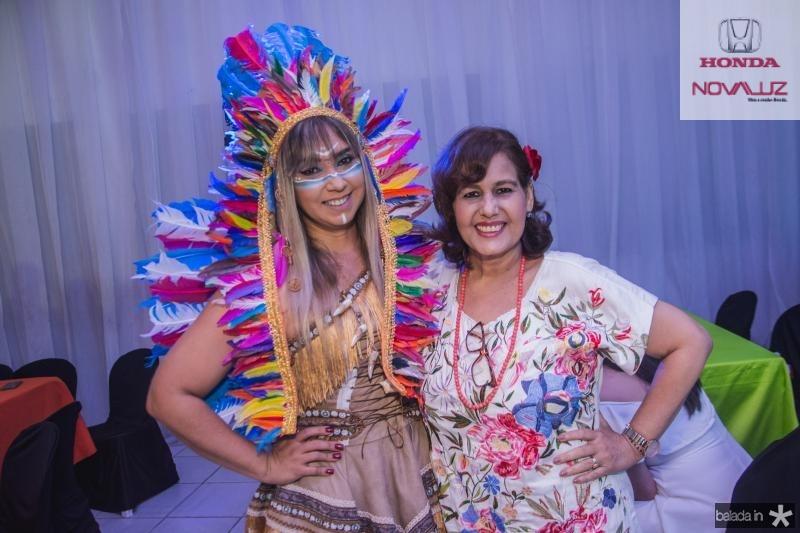 Luciana Athayde e Claudia Philomeno
