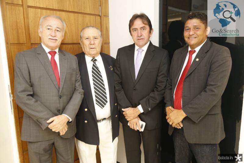 Casimiro Neto, Idalmir Feitosa, Adail Junior e John Monteiro