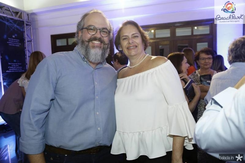 Pedro Martins e Ana Celina