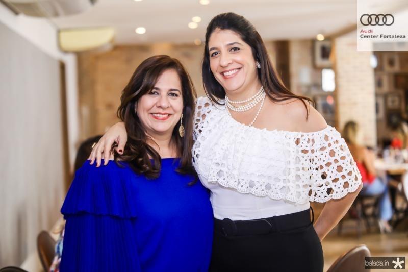 Martinha Assunçao e Elisa Oliveira