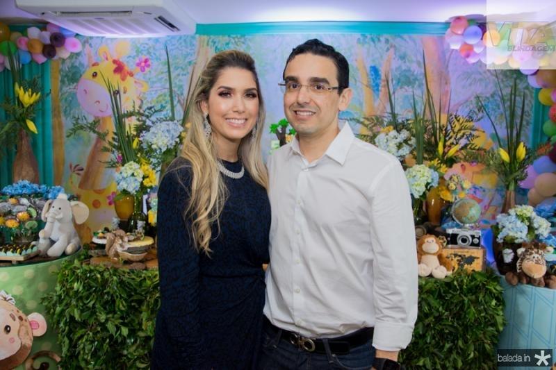 Georgeanne e Marcio Magalhaes Benevides