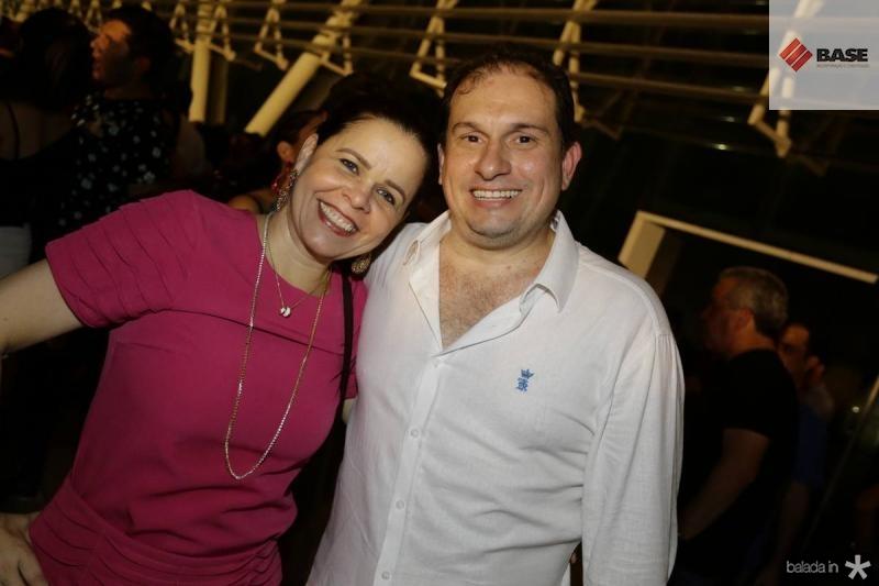 Isabelle Borges e Luiz Claudio