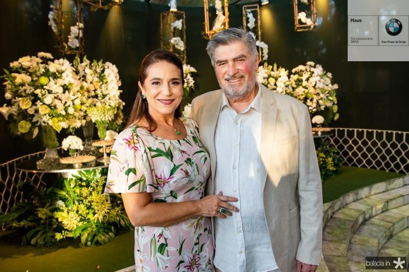 Patricia e Amarilio Macedo
