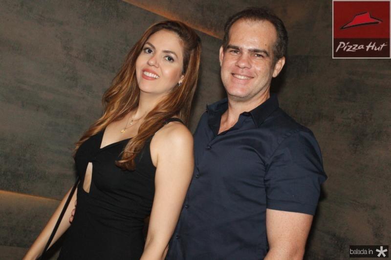 Ana Flava e Celio Gurgel Junior