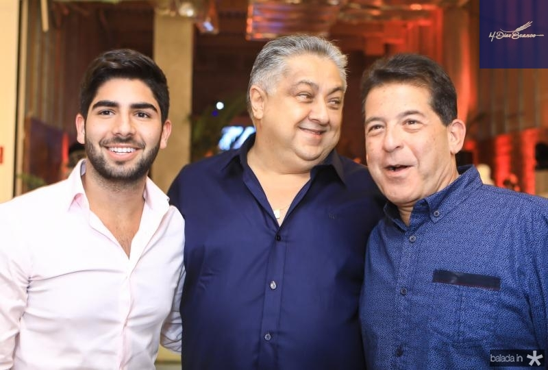 Deib Neto, Adriano Pinto e Deib Otoch