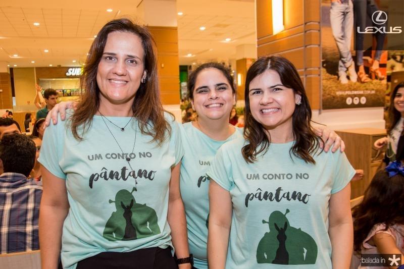 Ana Cecilia Castro, Tatiana Mota e Ticiana Brigido