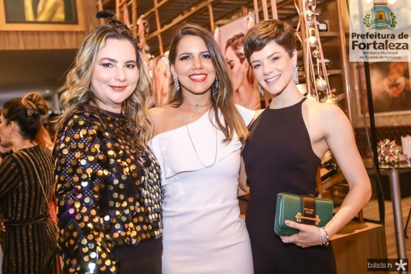 Soraya Pinheiro, Ana Carolina Fontenele e Paula Sampaio