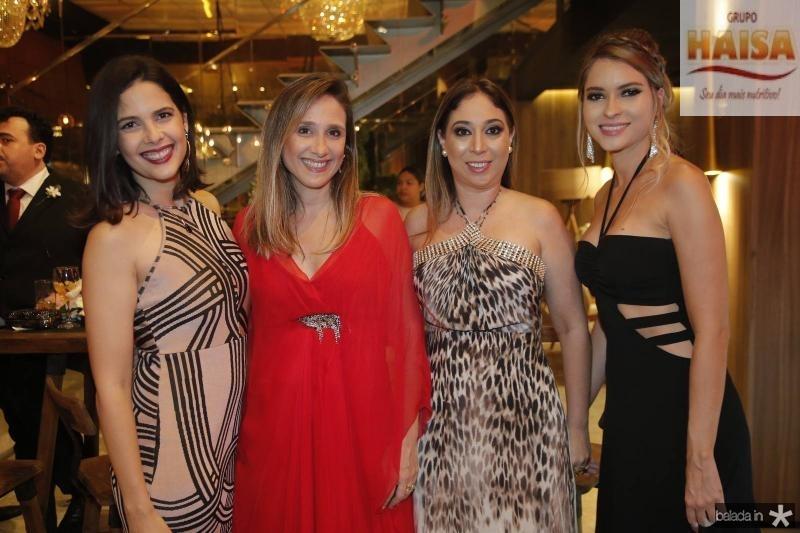 Joana Ramalho, Juliana Mesquita, Luciana Pinheiro e Marilia Melo