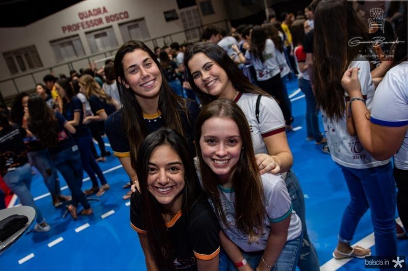 Maria Clara Catunda, Giulia Frota, Thais Albuquerque e Julia Matos