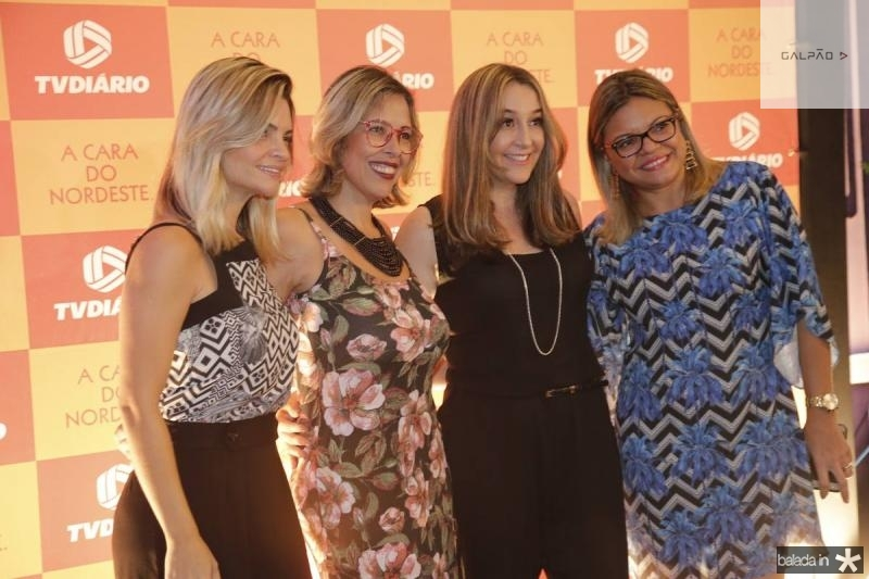 Samara Passos, Alessandra Garcia, Suzi  Valerio e Gi Alves