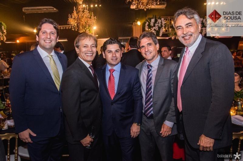Daniel Simoes, Otacilio Valente, Pompeu Vasconcelos, Adalberto Machado e Paulo Angelim