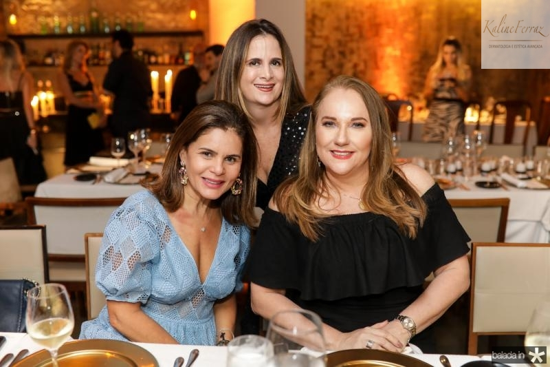 Liliana Linhares, Adriana Bezerra e Luiziane Cavalcante