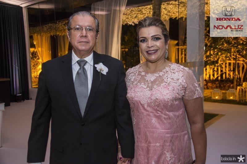 Mario Bezerra e Liana Oliveira