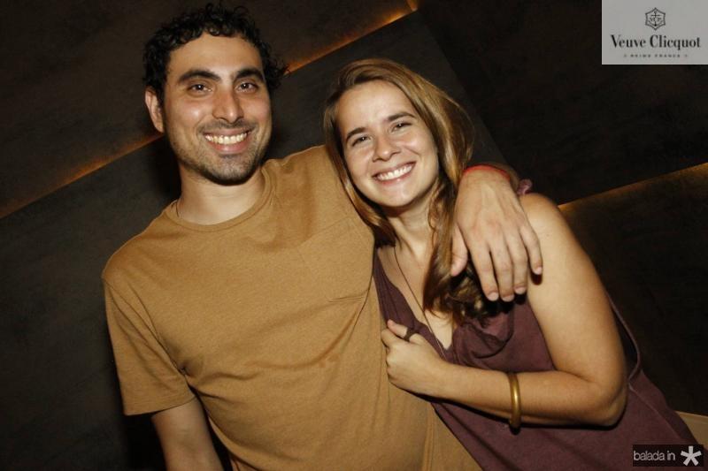 Rodrigo Fernandes e Ticiana Lima