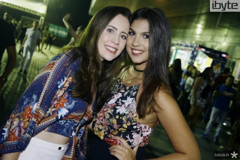 Rebeca Peixoto e Luana Albuquerque