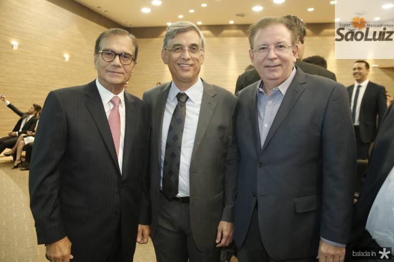 Beto Studart, Cid Alves e Ricardo Cavalcante