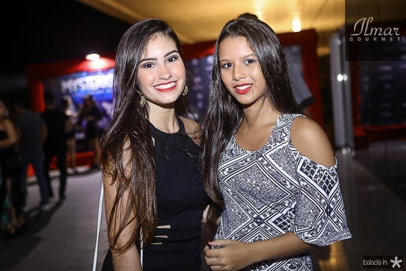 Livia Arruda e Mariane Bezerra