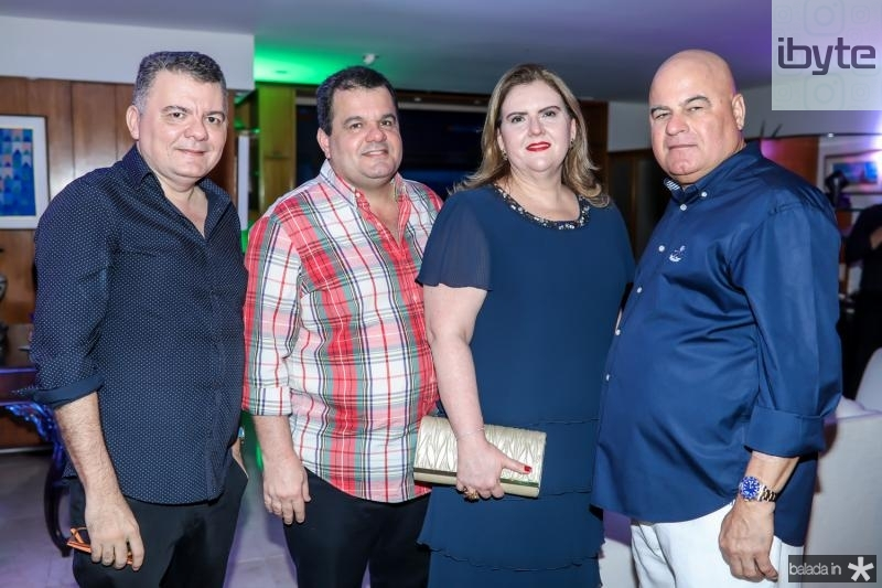 Omar Albuquerque, Rene e Annea Freire, Luciano Cavalcante