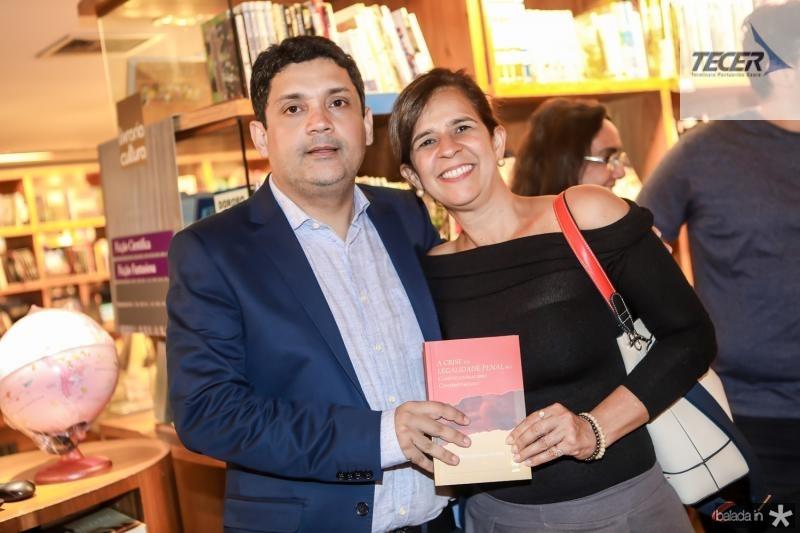 Bruno Queiroz e Roseane Holanda