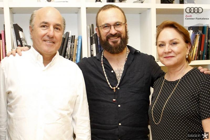 Silvio Frota, Andrfe Liohn e Paula Frota