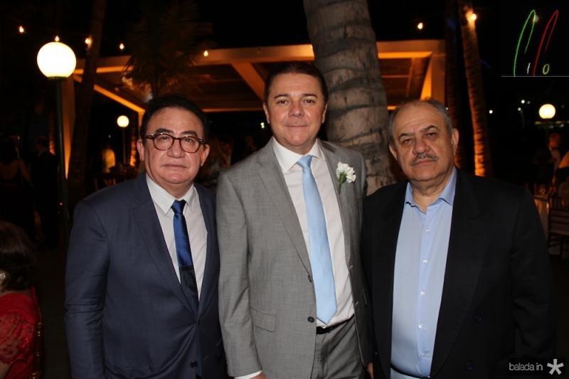 Manoel Cardoso Linha res, Eliseu Barros e Marcelo Teixeira