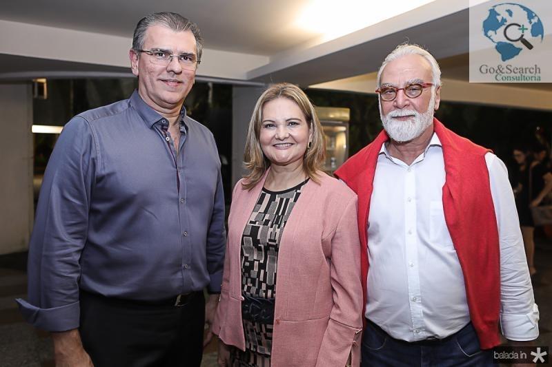 Randal Pompeu, Lenise Rocha e Ricardo Ribenboin
