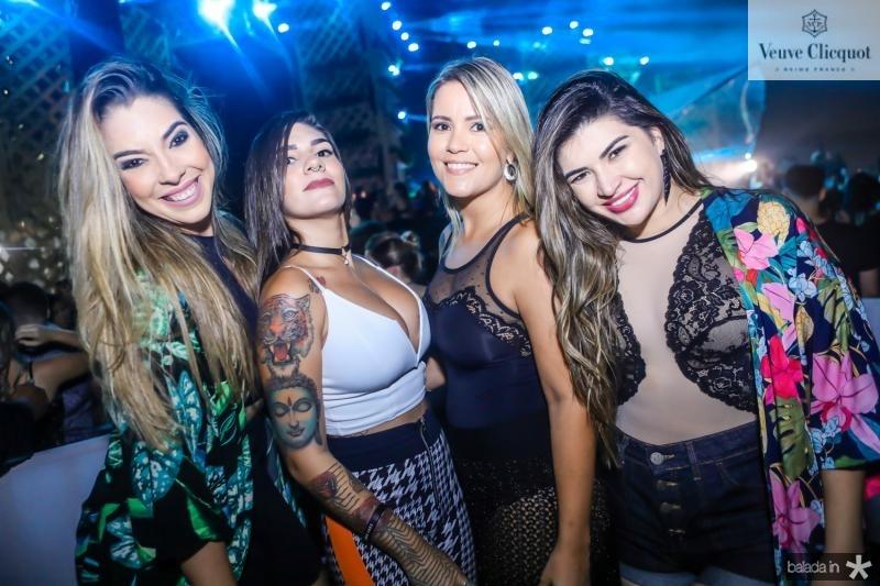 Ticiana Sousa, Thais Habibe, Taniery Cantalice e Raina Cavalcante