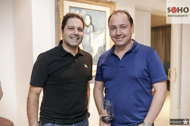 Fernando Diniz e Ariston Pessoa