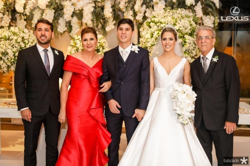 Joao Paulo e Moema Martins, Eduardo Sleiman, Roberta Martins e Joao Martins