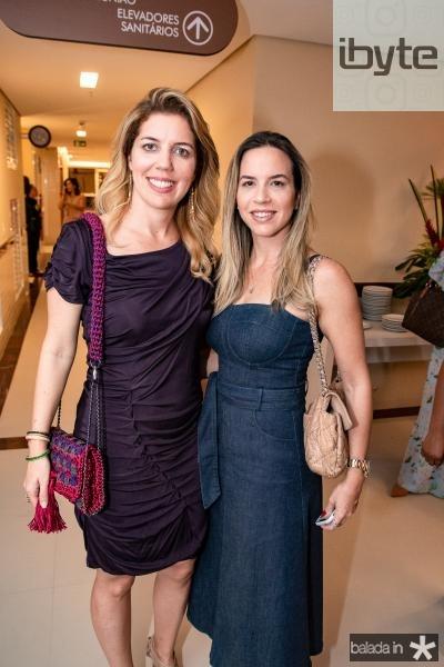 Ticiana e Isabela Rolim
