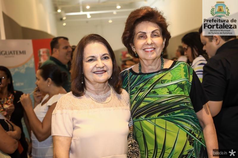 Sonia Queiroz e Salete Jereissati