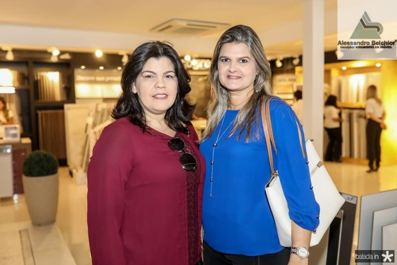 Jeane Lira e Juçara Coelho