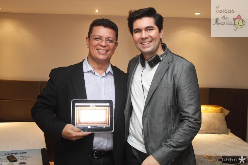 Flávio Liffeman e Itaquê Figueiredo