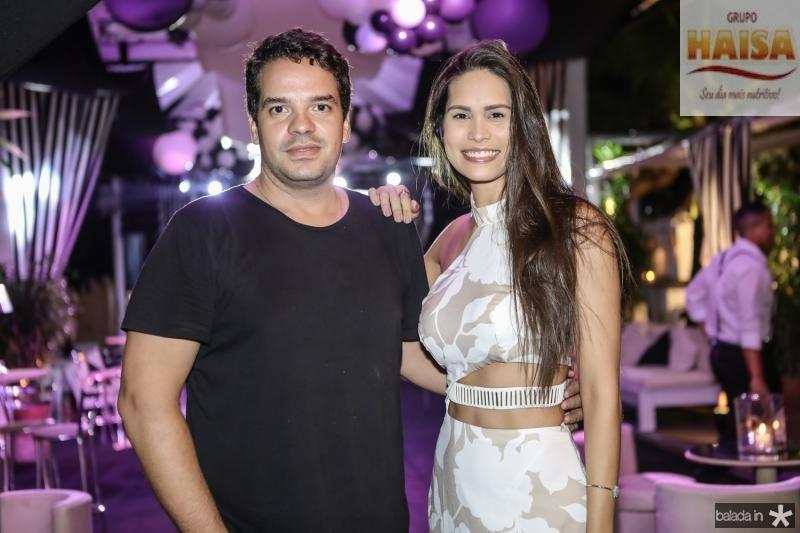 Thiago Holanda e Jade Oliveira