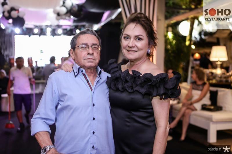 Tobias Navarro e Paula Frota